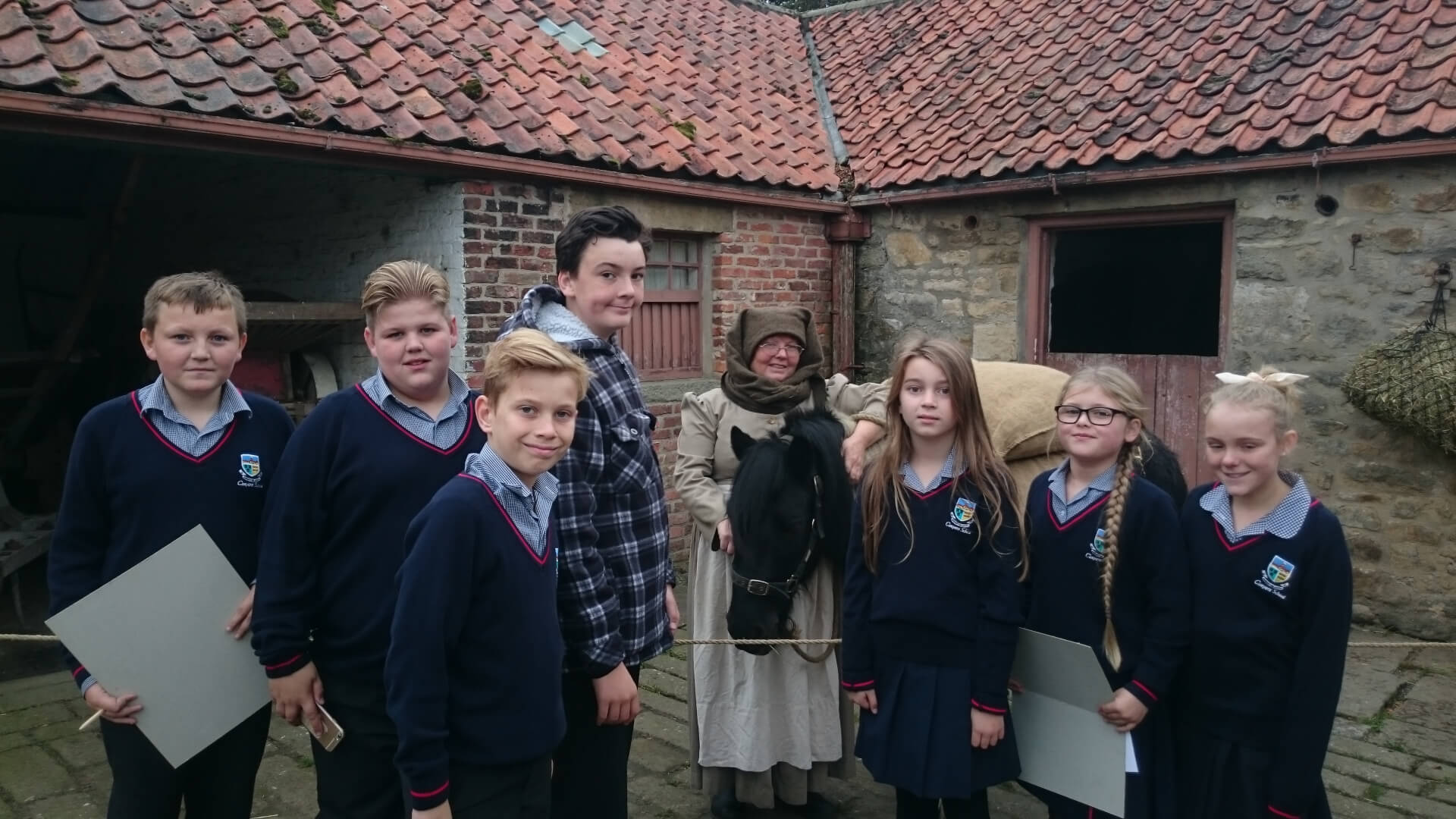 year 7 beamish visit
